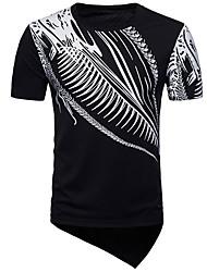 abordables -Tee-shirt Homme, Géométrique Chinoiserie