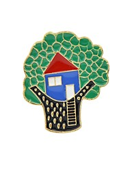 cheap -Brooches - Tree of Life Basic, Fashion Brooch Green For Daily / Date