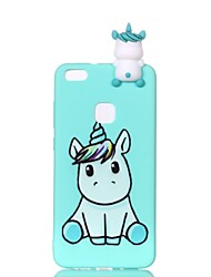 cheap -Case For Huawei P20 lite P10 Lite Pattern DIY Back Cover Unicorn Soft TPU for Huawei P20 lite P10 Lite P10 P8 Lite (2017)
