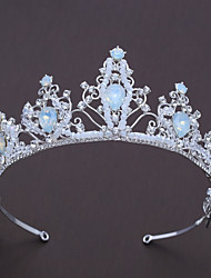 cheap -Alloy Tiaras with Rhinestone / Crystal 1pc Wedding / Special Occasion Headpiece
