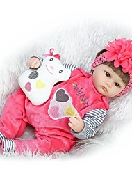 cheap -NPKCOLLECTION Reborn Doll Baby Girl 16 inch Silicone Kid's Unisex Gift