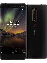 cheap -NOKIA 6 5.5 inch 4G Smartphone (4GB + 64GB 16mp Snapdragon 630 3000mAh mAh)
