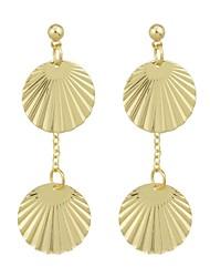 cheap -Women's Drop Earrings - Casual / Fashion Gold Shell Earrings For Gift / Date