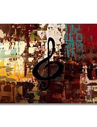 abordables -Peinture à l'huile Hang-peint Peint à la main - Abstrait Contemporain Moderne Toile