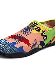 abordables -Homme Unisexe Chaussures Spandex Grille respirante Eté Automne Moccasin Confort Mocassins et Chaussons+D6148 Chaussures Tendances