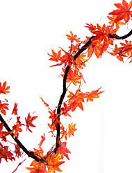 Недорогие -Искусственные Цветы 5 Филиал Modern / Пастораль Стиль Pастений Цветы на стену