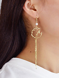 cheap -Women's Mismatch Bird / Spiders Imitation Pearl Drop Earrings - Casual / Mismatch Gold Circle Earrings For Daily / Date
