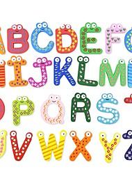 Недорогие -Игрушка для обучения чтению внедорожник Семья Животные Классика Дерево / Бамбук Все Детские Взрослые Подарок 26pcs