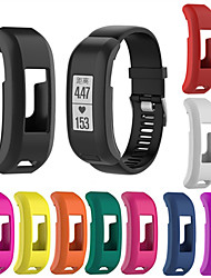 Недорогие -Ремешок для часов для Vivosmart HR Garmin Современная застежка силиконовый Повязка на запястье