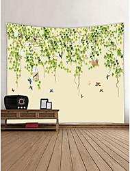 abordables -Thème jardin Animaux Décoration murale 100 % Polyester Moderne Art mural, Tapisseries murales Décoration