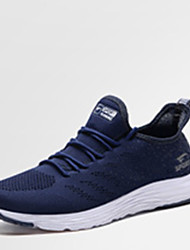 cheap -Women's Shoes Tulle Spring / Fall Comfort Sneakers Flat Heel Dark Blue / Light Grey / Pink