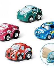 povoljno -Igračke auti Trkaći auto Igračke za kućne ljubimce Automobil Interakcija roditelja i djece Plastično kućište Dječji Poklon 2pcs