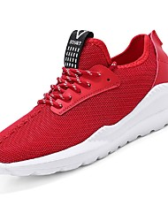 cheap -Men's Light Soles Net / Tulle Summer Comfort Sneakers Running Shoes / Tennis Shoes / Track & Field Shoes Black / Gray / Red