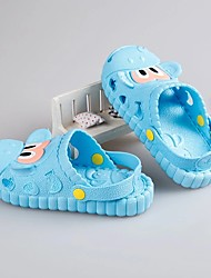 cheap -Boys' Shoes PVC Leather Summer Light Soles Slippers & Flip-Flops Button for Pink / Light Blue