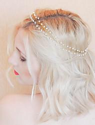 abordables -Cristal Imitation de perle Bandeaux with Cristal Imitation Perle 1pc Mariage Fête / Soirée Casque
