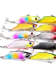 abordables -10pcs pcs Señuelos duros Vibración Cebos Vibración Señuelos duros ABS Al Aire Libre Deportes y Ocio Pesca de Mar Pesca a la mosca Pesca