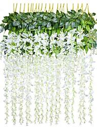 economico -Fiori Artificiali 1 Ramo Stile Pastorale Piante Ghirlande e fiori da appendere
