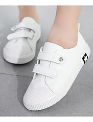 cheap -Boys' / Girls' Shoes Canvas Spring / Fall Comfort Sneakers for White / Black / Khaki