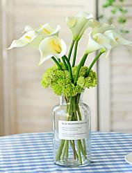 Недорогие -Искусственные Цветы 5 Филиал Пастораль Стиль Калла Букеты на стол