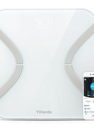 cheap -Smart Body Fat Scale Bluetooth APP iOS Android LED Display Data Analysis HealthCare Personal Family