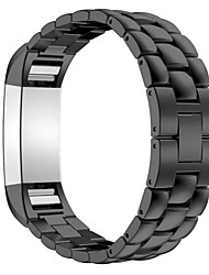 cheap -Watch Band for Fitbit Charge 2 Fitbit Classic Buckle Stainless Steel Wrist Strap