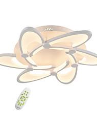 cheap -6-Head Electrodeless Dimming Led CeilingLamp Modern Simplicity Bending Hook Design Acrylic Living Room Dining Room Bedroom Light Fixture