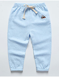 cheap -Kids Unisex Solid Colored Pants