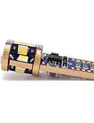 Недорогие -1 шт. T10 Автомобиль Лампы 6W SMD 3020 480lm 12 Светодиодная лампа Внешние осветительные приборы For Универсальный Все модели Все года