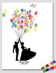 abordables -Cadres & Plateaux de signatures Autres Thème classique Personnes Romance Vintage ThemeWithMotif / Impression