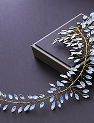 Недорогие -Сплав Аксессуары для волос с Кристаллы 1шт Свадьба / Вечеринка / ужин Заставка