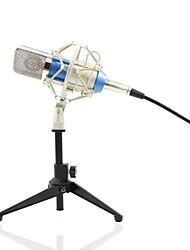 Недорогие -KEBTYVOR BM700+PC03 Проводное Микрофон Конденсаторный микрофон Ручной микрофон Назначение Компьютерный микрофон
