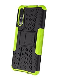 baratos -Capinha Para Huawei P20 Pro Com Suporte Armadura Capa traseira Armadura Rígida PC para Huawei P20 Pro
