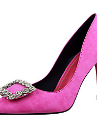 cheap -Women's Shoes Fur Spring / Fall Gladiator / Basic Pump Heels Stiletto Heel Pointed Toe Light Purple / Red / Pink / Party & Evening