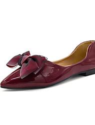 povoljno -Žene Cipele PU Ljeto Udobne cipele Ravne cipele Ravna potpetica za Kauzalni Obala Lila-roza