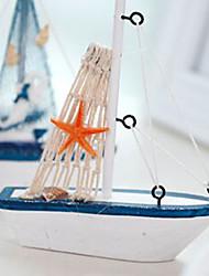 baratos -1pç Resina / Madeira Moderno / Contemporâneo / Estilo Europeu para Decoração do lar, Presentes / Objetos de decoração / Home Decorações Presentes