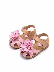 povoljno -Djevojčice Cipele Eko koža Ljeto Udobne cipele Sandale za Kauzalni Obala Fuksija Pink