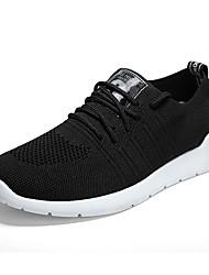 abordables -Homme Chaussures Tulle / Polyuréthane Printemps / Automne Confort Chaussures d'Athlétisme Blanc / Noir / Rouge / Course à Pied