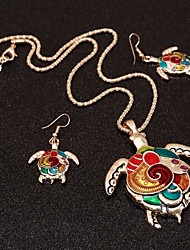 cheap -Women's Jewelry Set - Turtle Ethnic, Colorful Include Rainbow For Club / Bar