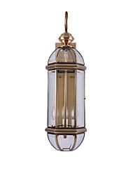 economico -JLYLITE Stile Mini Tradizionale / Classico Lampade da parete Camera da letto / Sala studio / Ufficio Metallo Luce a muro 110-120V /