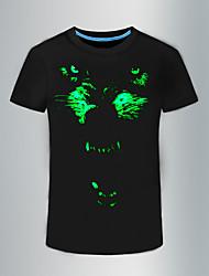 preiswerte -Herrn Tier - Punk & Gothic T-shirt