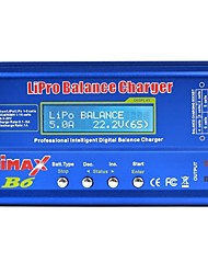 baratos -iMAX B6 Digital RC Lipo NiMH battery 4pçs Bateria Metal