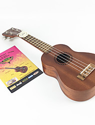 billige Ukuleler-Ukulele 21inch Materiale / Tre Manual