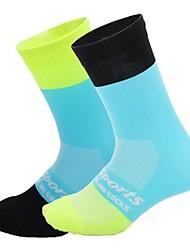 Недорогие -Спортивные носки / спортивные носки Велоспорт Носки Универсальные Быстровысыхающий / Анатомический дизайн / Пригодно для носки 1 пара