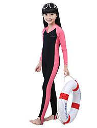 cheap -Bluedive Girls' Boys' Dive Skin Suit Waterproof Japanese Cotton Long Sleeves Swim Shirt Rash Guard Diving