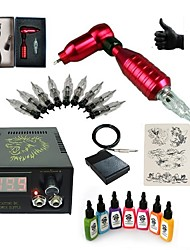 Недорогие -Татуировочная машина Набор для начинающих - 1 pcs татуировки машины с 7 x 15 ml татуировки чернила, Переменные скорости, профессиональный