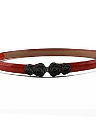 abordables -Mujer Cinturón Slim - Activo Un Color