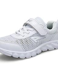 preiswerte -Mädchen Schuhe Tüll Sommer Komfort Sportschuhe Wandern Rennen für Sportlich Weiß Dunkelblau Königsblau