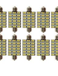 baratos -SENCART T10 Carro Lâmpadas 9W SMD 5730 540lm 18 Lâmpadas LED Iluminação interior For Universal Todos os Anos