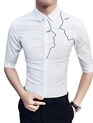 cheap -Men's Business Basic Shirt - Portrait