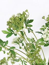 お買い得  -人工花 1 田園 スタイル 植物 テーブルトップフラワー